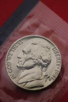 1981 P BU JEFFERSON NICKEL IN CELLO EXACT COIN PICTURED FLAT RATE SHIPPING 12