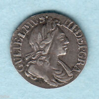 GREAT BRITAIN. 1700   WILLIAM 111 PENNY.  GVF/VF