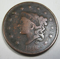 1836 LARGE CENT COLLECTOR COIN  218H