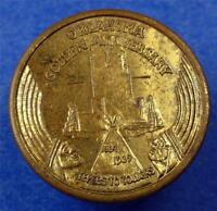 OKLAHOMA CITY 1939 GOLDEN ANNIV. TRADE TOKEN/MEDAL PERRINE BLDG LOANS ME2657