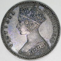 1849 VICTORIAN  FLORIN  BETTER LY FINE,S377 COLLECTIONS/ BULK LOTS