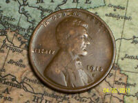 1915 D  @  LINCOLN WHEAT PENNY