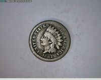 1862 1C INDIAN HEAD CENT CIVIL WAR COIN  81 87