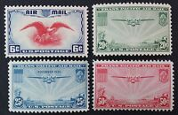 CKSTAMPS: US AIR MAIL STAMPS COLLECTION SCOTTC20-C23 4 MINT NH OG