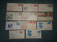 STATE OF MASSACHUSEUTTS FIRST FLIGHT COVER COLLECTION, ALL W/CACHET
