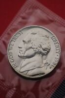 1981 P BU JEFFERSON NICKEL IN CELLO EXACT COIN PICTURED FLAT RATE SHIPPING 04
