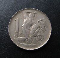 KORUNA / CROWN 1923. KM4. CZECHOSLOVAKIA COIN. P1843