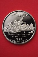 1999 S NEW JERSEY PROOF QUARTER CLAD EXACT COIN PICTURED FLAT RATE SHIPPING 03
