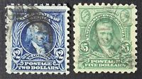 CKSTAMPS: US STAMPS COLLECTION SCOTT479 480 2 $2 $5 USED CV$75