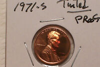 1971 S  LINCOLN MEMORIAL PENNY TINTED GEM PROOF