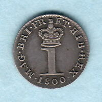 GREAT BRITAIN.  1800 GEORGE 111   SILVER PENNY.. GEF/EF   MUCH LUSTRE