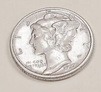1937   MERCURY   DIME  UNCIRCULATED   DECENT  COIN  GREAT  PRICE  322   8