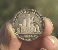 FRANCE 1849 SOCIETY OF ARCHEOLOGY IN ORLEAN SILVER