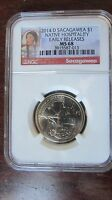 2014 D SACAGAWEA DOLLAR NGC MS68 EARLY RELEASES ER