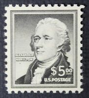 CKSTAMPS: US STAMPS COLLECTION SCOTT1053 $5 HAMILTON UNUSED NH REGUM