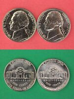 ROLL OF 40 1991 D & P THOMAS JEFFERSON NICKELS FROM MINT SETS FLAT RATE SHIPPING