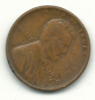 A VINTAGE FINE CONDITION 1930 S WEAK REVERSE LINCOLN CENT-OLD US COIN-MAY440