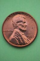 1959D LINCOLN MEMORIAL CENT UNCIRCULATED EXACT COIN SHOWN FLAT RATE SHIPPING 03