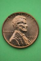 1959D LINCOLN MEMORIAL CENT UNCIRCULATED EXACT COIN SHOWN FLAT RATE SHIPPING 17