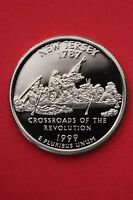 1999 S NEW JERSEY PROOF QUARTER CLAD EXACT COIN PICTURED FLAT RATE SHIPPING 15