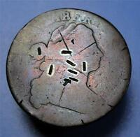 UGLY COIN 1801 DRAPED BUST LARGE CENT ME5383