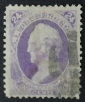 CKSTAMPS: US STAMPS COLLECTION SCOTT153 24C USED LIGHTLY CREASE CV$230