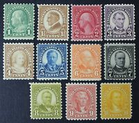 CKSTAMPS: US STAMPS COLLECTION SCOTT581-591 11 MINT H OG, 10C TINY THIN