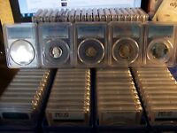 LOT OF 100 PCGS PROOF 69 DCAM COINS COST $1600 JUST TO GRADE WHY GRADE YOURS??