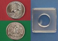 1993 D GEORGE WASHINGTON QUARTER WITH 2X2 SNAP FROM MINT SET FLAT RATE SHIPPING