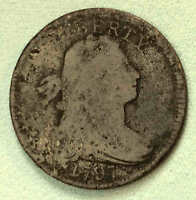 1797 LARGE CENT S 138 SHARP  SHIPS FREE