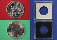2013 D MOUNT RUSHMORE QUARTER WITH 2X2 CASE FROM MINT SET FLAT RATE SHIPPING
