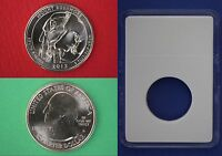 2013 D MOUNT RUSHMORE QUARTER WITH DIY SLAB FROM MINT SET FLAT RATE SHIPPING