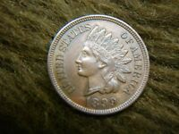 1899 INDIAN CENT    SUPER DETAIL   GREAT SURFACE & STRIKE
