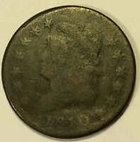 1810 CLASSIC LARGE CENT SHARP  SHIPS FREE AA4