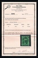 CKSTAMPS: US STAMPS COLLECTION SCOTT34 10C WASHINGTON USED WITH CERT CV$2100