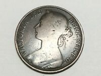 GREAT BRITAIN 1893 1 PENNY COINCIRCULATED