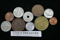 WORLD COINS USEFULL LOT LACQUERED FOR PRESERVATION A72 ZA6