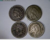 1859 1860 1862 1863 1C INDIAN HEAD CENTS   7 226