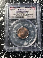 2009 U.S. LINCOLN CENT PENNY PCGS MS65 RED LOTG559 'EARLY CHILDHOOD'
