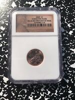 2009 U.S. LINCOLN CENT PENNY NGC MS66 RED LOTG560 'FORMATIVE YEARS'
