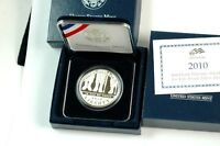 2010 AMERICAN VETERANS DISABLED FOR LIFE COMMEMORATIVE PROOF SILVER DOLLAR COIN
