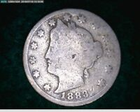 1883 5C WITH CENTS LIBERTY NICKEL   40 172