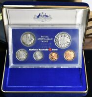 1981 AUSTRALIA WITH BOX & COA   6 COIN PROOF SET