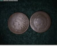 1864 1865 1C INDIAN HEAD CENTS   61 115   FILLERS