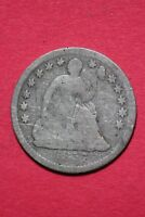 CULL 1857 P SEATED LIBERTY HALF DIME EXACT COIN SHOWN FLAT RATE SHIPPING OCE 154