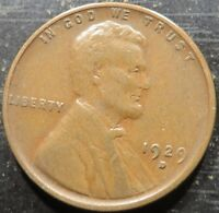1929 D LINCOLN WHEAT CENT  A SOLID ALBUM COIN