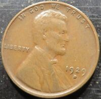 1929 D LINCOLN WHEAT CENT 1 - SOLID ALBUM COIN
