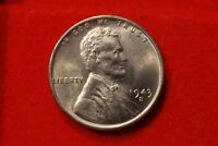 1943-S LINCOLN WHEAT STEEL CENT PENNY UNCIRCULATED V64