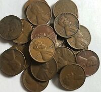 INVESTOR/COLLECTOR LOT OF 600 1940S & 1950S S-MINT LINCOLN WHEAT CENTS