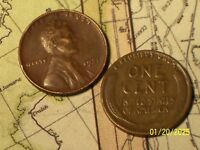 1931 @   LINCOLN WHEAT CENT FROM ROLL